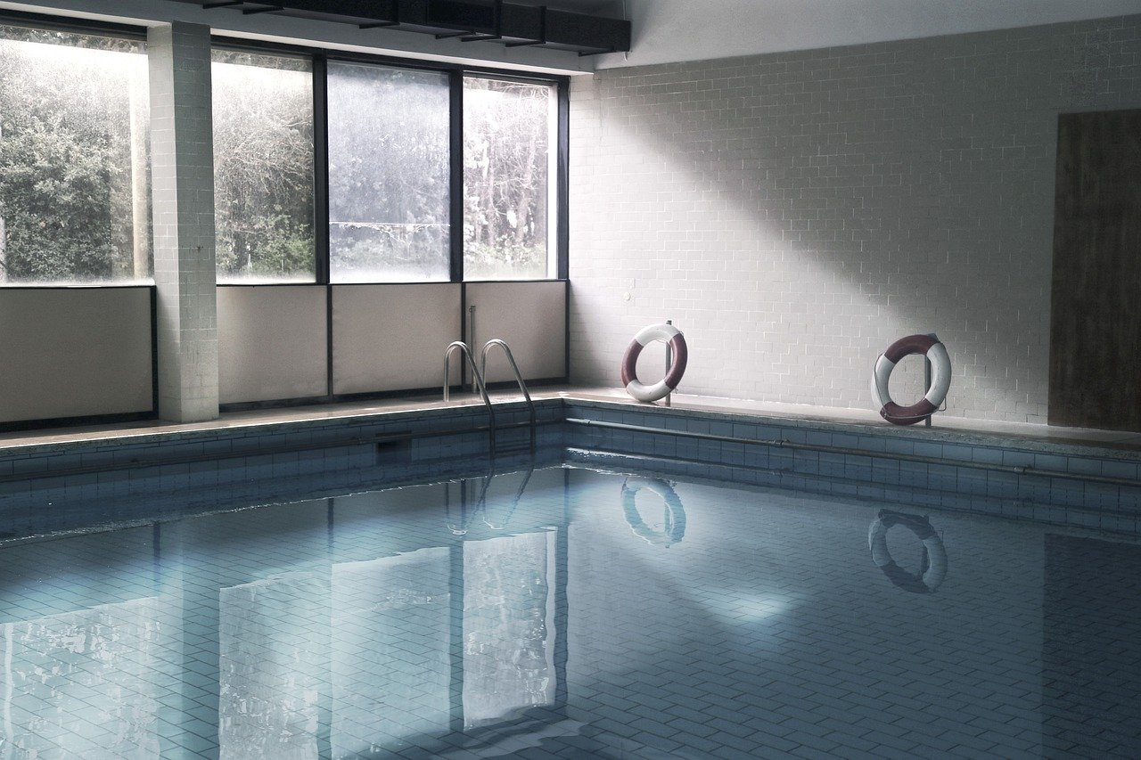 swimming pool, life preserver, pool